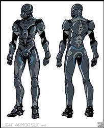 Light Armor Suit Ver. 2 by Hideyoshi