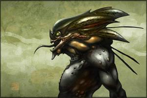 Alien concept by Hideyoshi