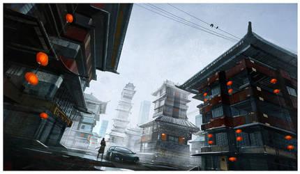 Asian Urban Flair by Hideyoshi