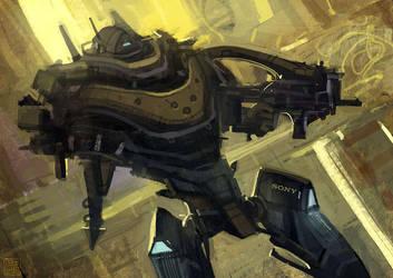 Warbot by Hideyoshi