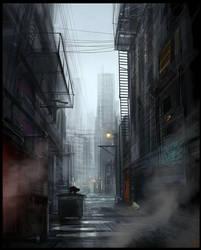 Dark Alley by Hideyoshi