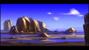 Sandbank by Hideyoshi