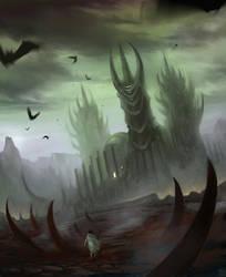 Dracula's Castle by Hideyoshi