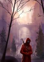 Warrior monk by Hideyoshi