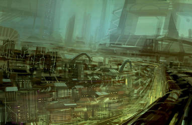Cityscape 1 by Hideyoshi