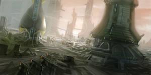 Cityscape 2 by Hideyoshi