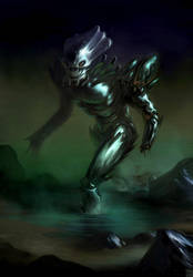Creature from the Black Lagoon by Hideyoshi