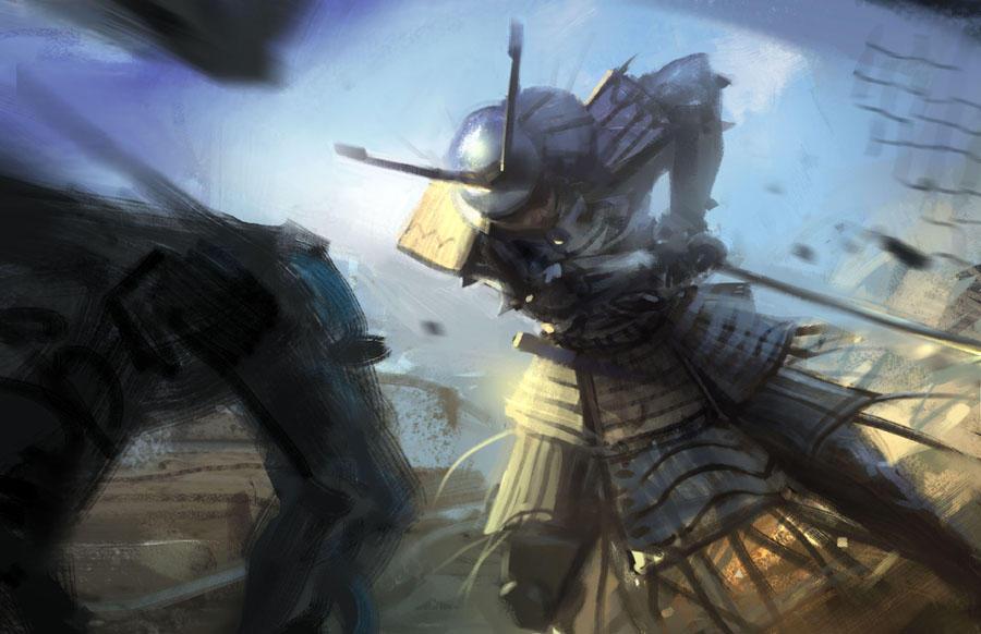 Samurai II by Hideyoshi