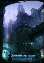 Downtown by Hideyoshi