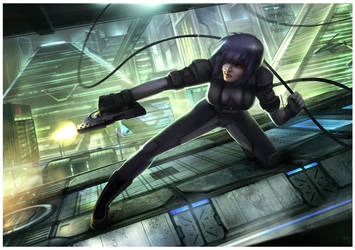 Ghost in the Shell - Engage by Hideyoshi