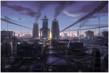 Metropolis by Hideyoshi