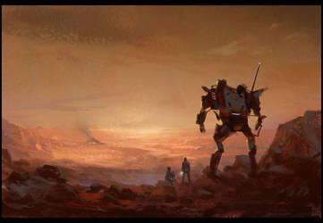 Mars by Hideyoshi