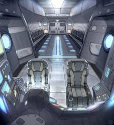Star Fall Drop Ship Interior by Hideyoshi