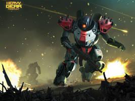 Heavy Gear Assault - Jager by Hideyoshi
