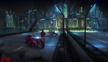 AKIRA Highway Concept by Hideyoshi