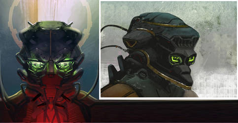 Bionic Eyes by Hideyoshi