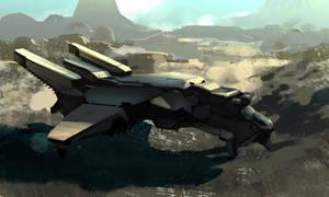 Warhorse Dropship by Hideyoshi
