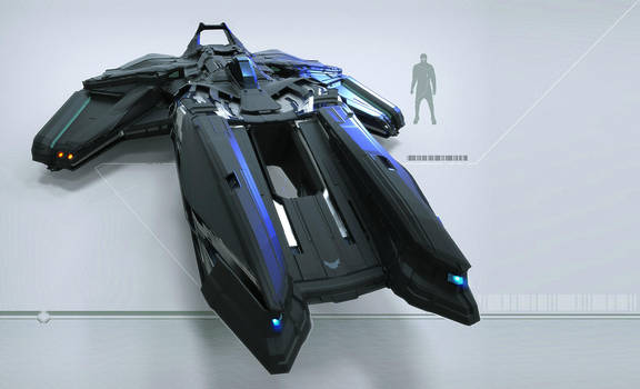 Black Hovercraft by Hideyoshi