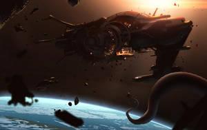 Space Salvage II by Hideyoshi