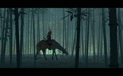 Lost Samurai by Hideyoshi