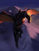 Rising Dragon by Hideyoshi