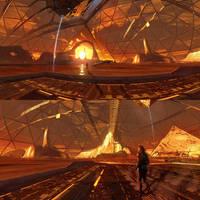 Planet Base - 360 panorama image by Hideyoshi