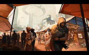 Market Day by Hideyoshi