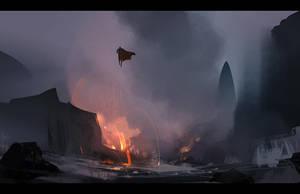 Sea of Lava by Hideyoshi