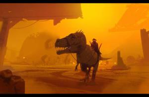 Sandstorm 2 by Hideyoshi
