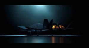 XF-77 'Crow' - Stealth Plane by Hideyoshi