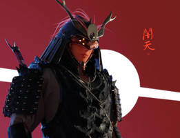 Yamiten - 3D concept by Hideyoshi