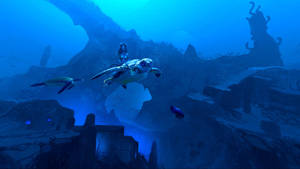 360 Art Underwater Atlantis by Hideyoshi