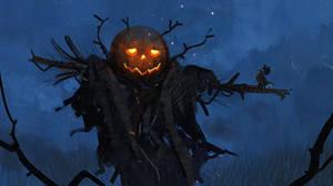 Pumpkin Man by Hideyoshi