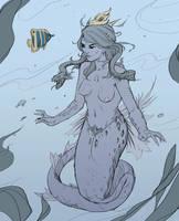 Mermaid by Hideyoshi