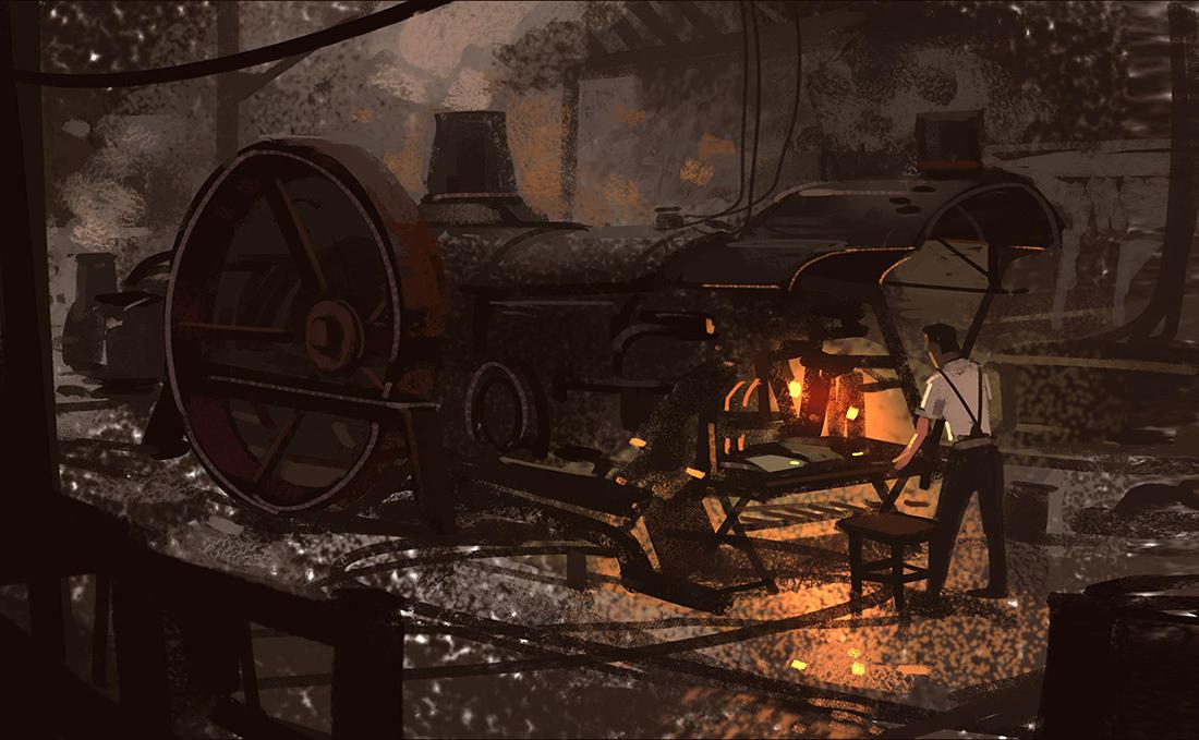 Steam Engine by Hideyoshi