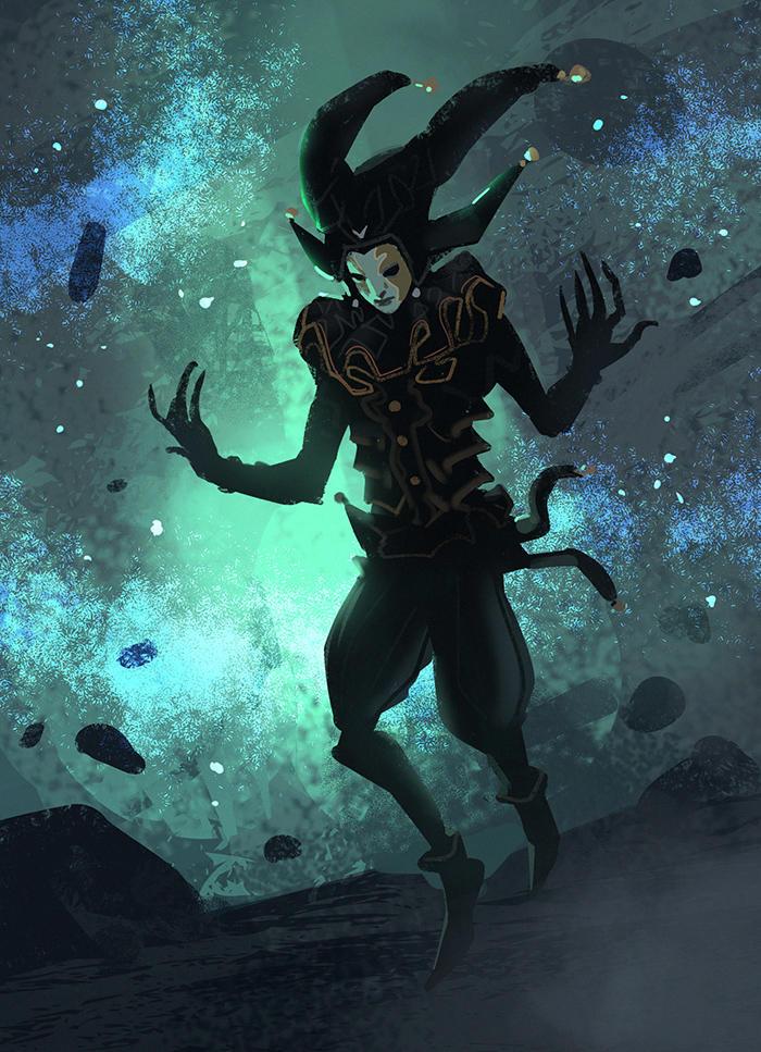 Demon Jester by Hideyoshi