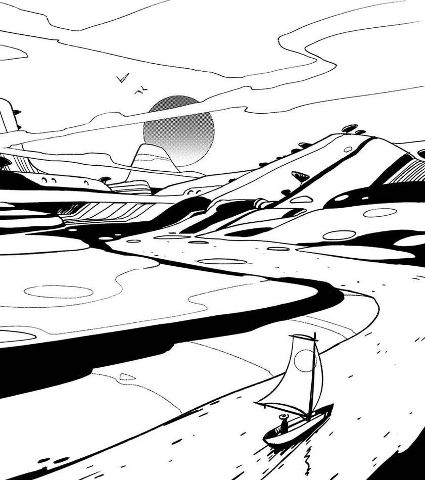 Inktober - Landscape by Hideyoshi
