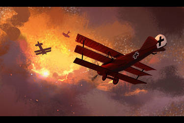 Red Baron by Hideyoshi