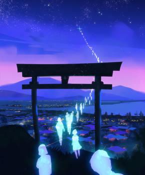 Spirit Shrine by Hideyoshi