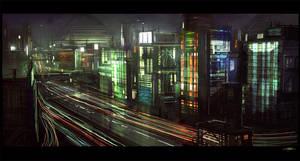 Neo Tokyo by Hideyoshi