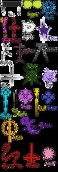 Ocs-Logos by Kaori-OC