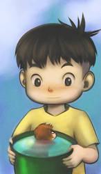 'Ponyo loves Sousuke' by AnimantX
