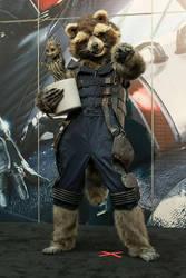 SDCC 2015 - Rocket Raccoon by AnimantX