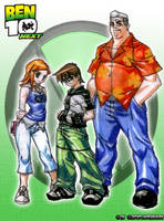 Ben 10 Next by jadenkaiba