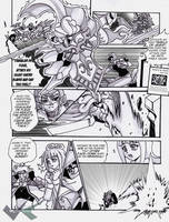 Manga Commission : Chronicles of a Duelist Page 2 by jadenkaiba