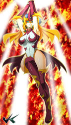 Commission: E-HERO  Napalm Cruce by jadenkaiba