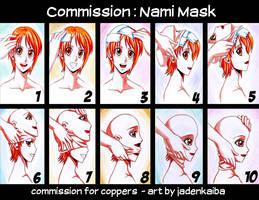 Commission: Nami Mask by jadenkaiba