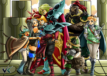 Commission : Radiant Historia - True Ending Extend by jadenkaiba
