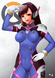 OVERWATCH - D.Va by jadenkaiba