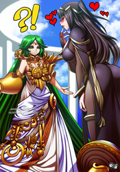 COMMISSION: Tharja X Little Palutena by jadenkaiba